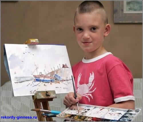 Самый маленький художник в мире