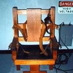 Самый первый электрический стул в мире