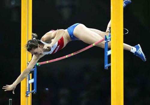 Мировой рекорд – прыжки с шестом