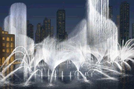 Самый дорогой фонтан в мире